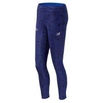 New Balance NYC Marathon Impact Tight, Pigment Print