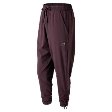 New Balance Shanti Soft Pant, Black Rose