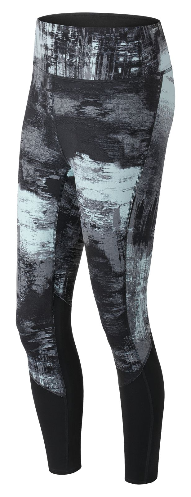 NB Elixir Printed Tight, Water Vapor Multi with Black