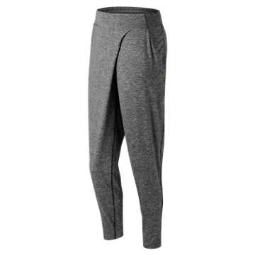 New Balance Evolve Soft Pant, Heather Charcoal