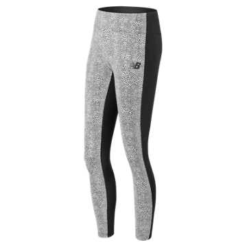New Balance NB Athletics Legging, Black Multi