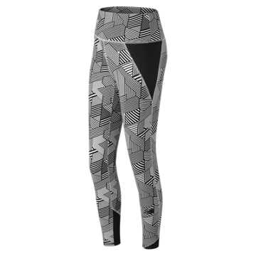 New Balance 247 Sport Legging, Black Multi