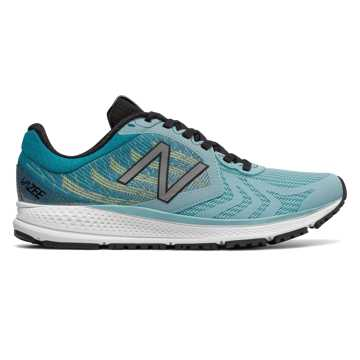 New Balance Vazee Pace v2, Sea Spray with Black & Bleached Lime Glo