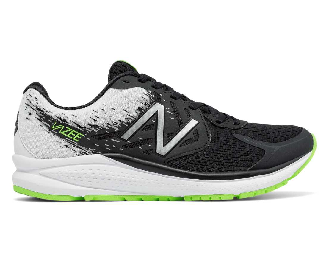 New Balance Vazee Prism v2, Black with White & Lime Glo