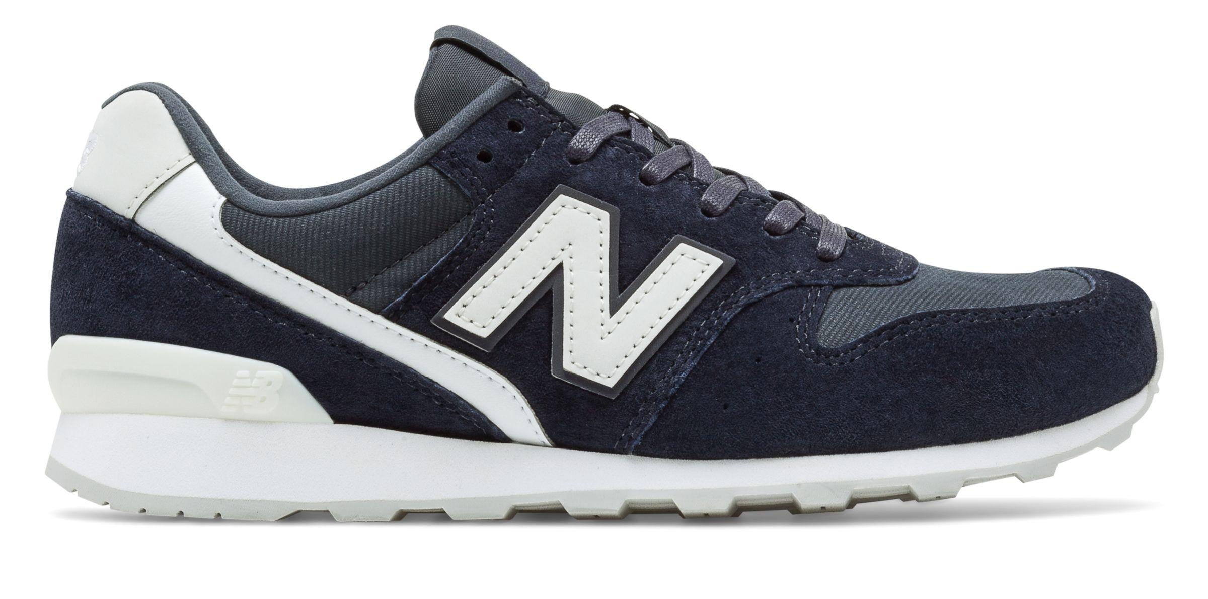 NB New Balance 996, Navy with Grey
