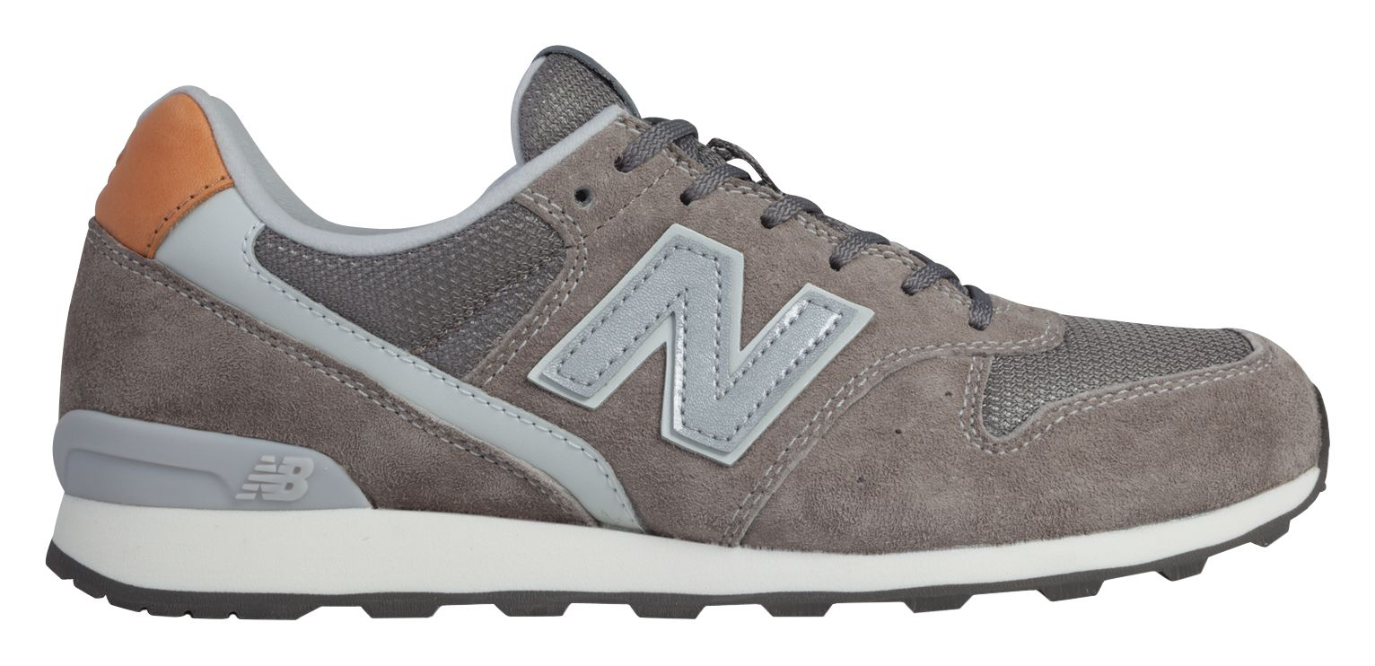 NB New Balance 996, Grey with Silver & White