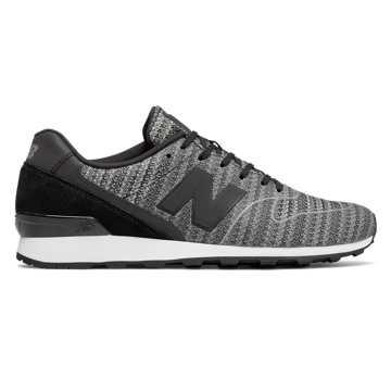 New Balance WR996系列复古鞋, 黑色