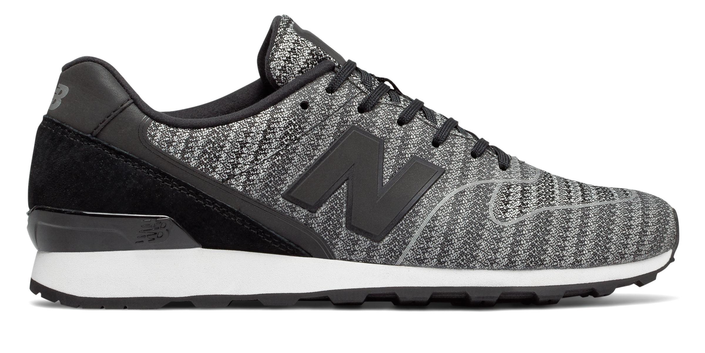 NB 996 New Balance, Black with Grey