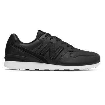 New Balance 996复古鞋 女款 稳定舒适 经典休闲, 黑色