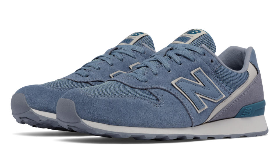 New Balance 996 Textile, Blue Rain with Steel