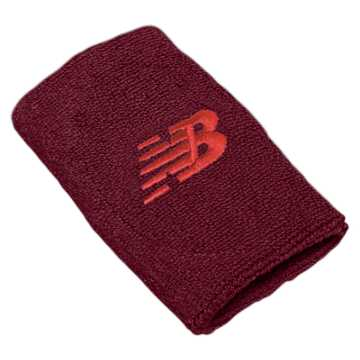 New Balance New Balance Wrist Towels, Maroon with Flame