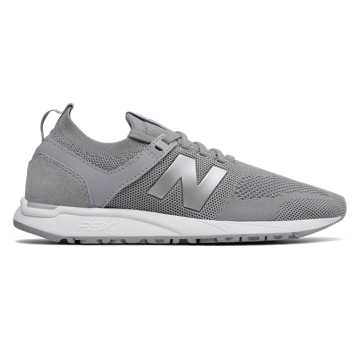 New Balance 247 Engineered Mesh, Silver Mink with Silver