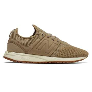 New Balance 247 NB Grey, Hemp with Tan