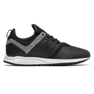 New Balance 247 NB Grey, Black with Copper Metallic