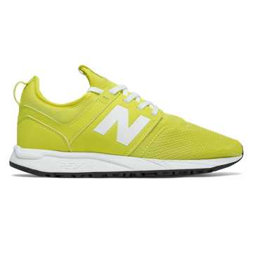 New Balance NB x J.Crew 247, Yellow with White