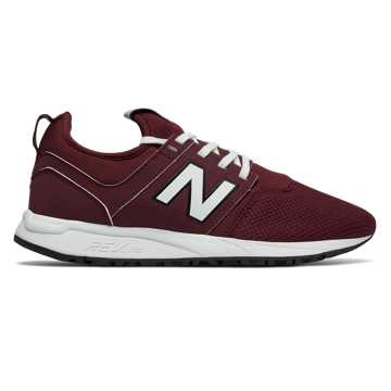 New Balance 247 Classic, Oxblood with Angora