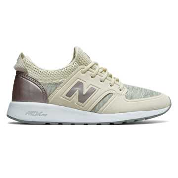 New Balance 420 REVlite Slip-On, Angora with Champagne Metallic