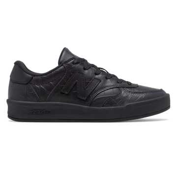 New Balance 300 Leather, Black