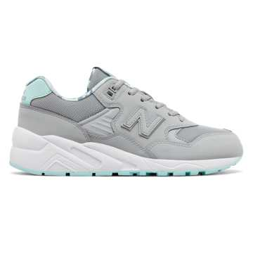New Balance 580系列复古鞋, 灰色
