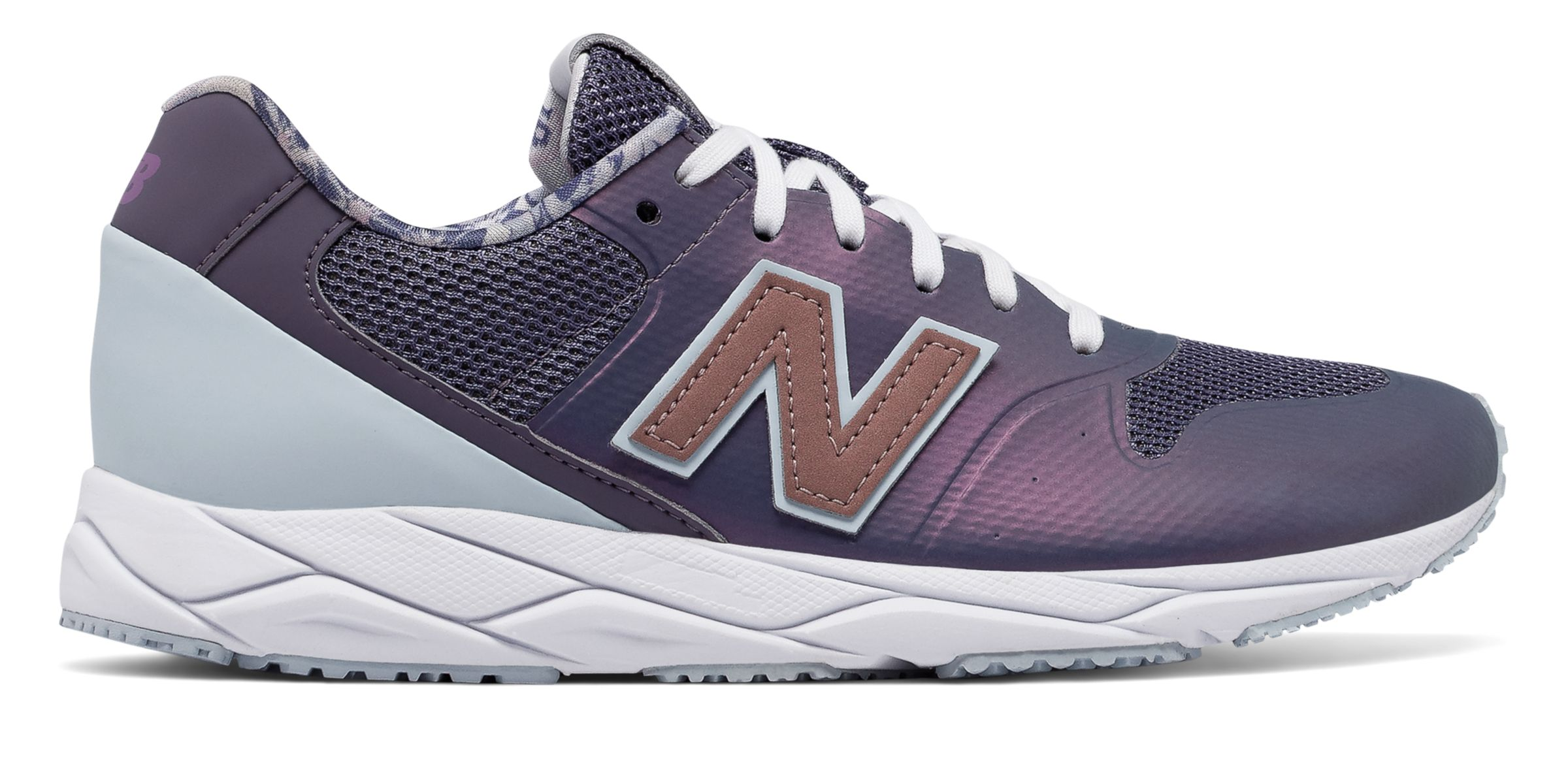 NB 96 REVlite, Deep Cosmic Sky with Light Porcelain Blue & Rose Gold