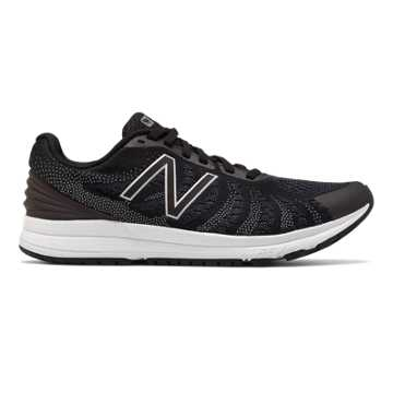 New Balance FuelCore Rush v3, Black with Thunder & White