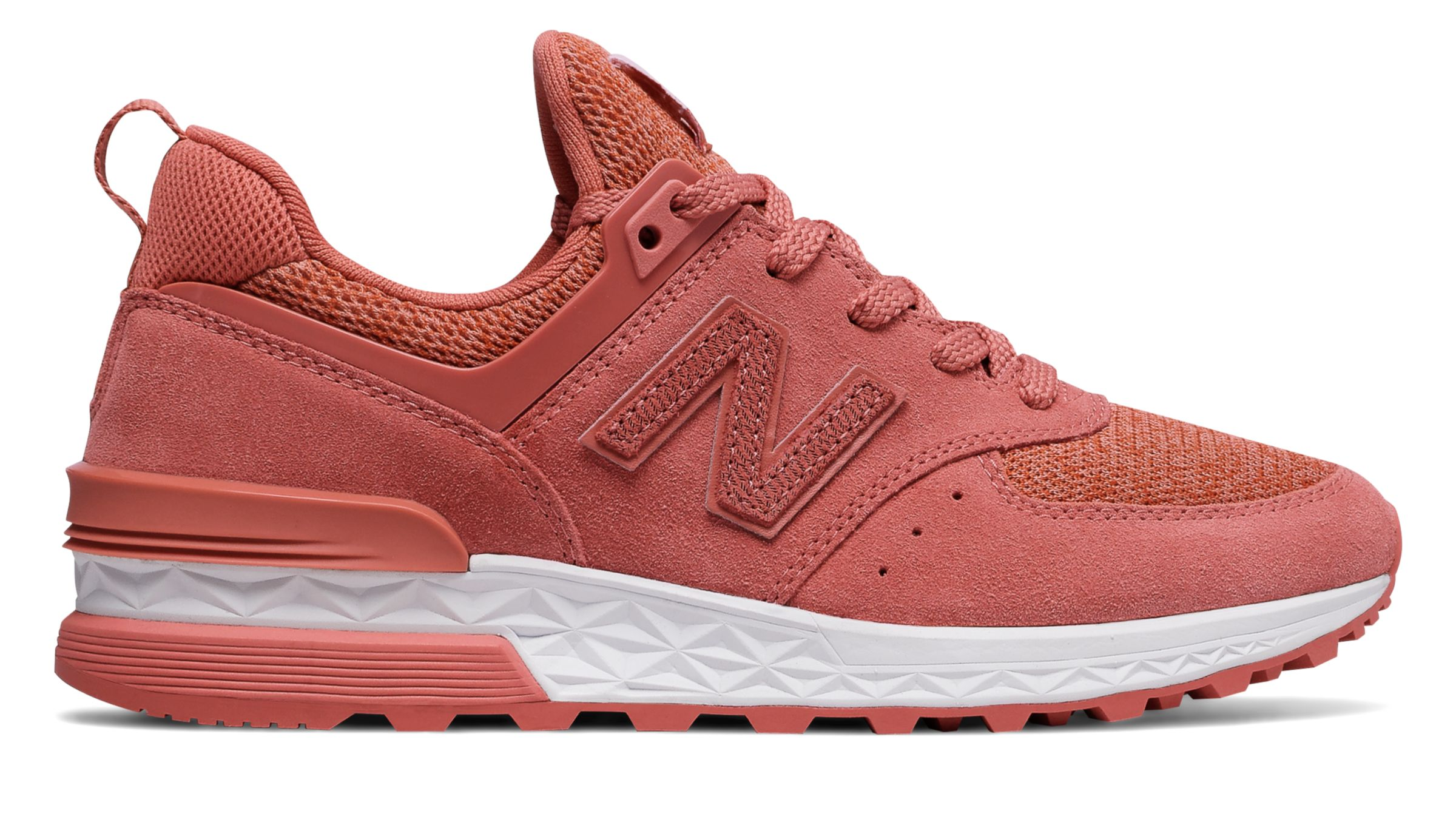 NB 574 Sport, Copper Rose with White
