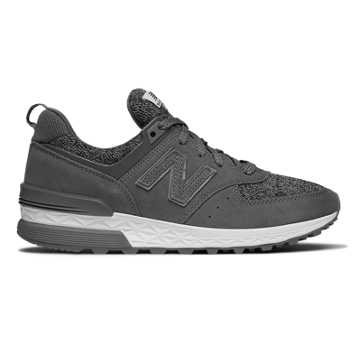 New Balance 574 Sport, Castlerock with White