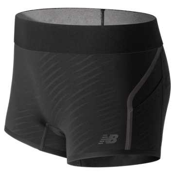 New Balance Precision Run Short, Black