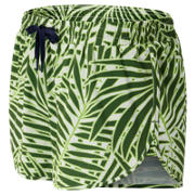 NB J.Crew Printed Impact Running Short, Palm Print