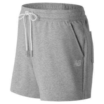 New Balance Classic Fleece Short, Athletic Grey