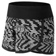New Balance Impact 3 Inch Printed Short, Speed Glitch with Black