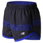 New Balance 3In 2 In 1 Woven Short, UV Blue Print