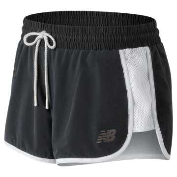 New Balance Determination Short, Black with White