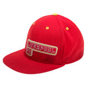 NB LFC Kop Cap, High Risk Red with White & Amber Yellow