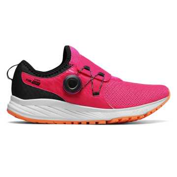 New Balance FuelCore Sonic, Alpha Pink with Black & White