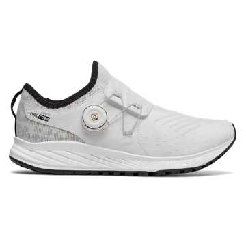 New Balance FuelCore Sonic Viz Pack, White with Black & Gold