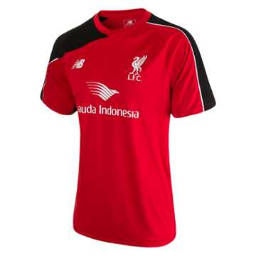 New Balance LFC Jr Training SS Jersey, High Risk Red