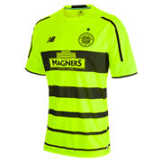 New Balance Celtic Mens 3rd SS Jersey, Fluorescent Yellow
