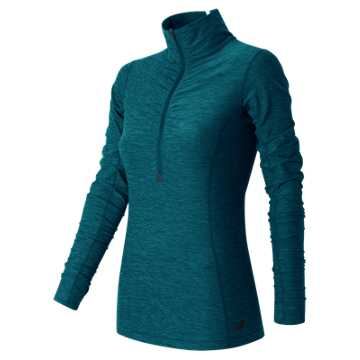 New Balance In Transit Half Zip, Castaway Heather