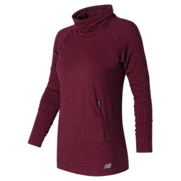 New Balance M4M Seamless Cable Pullover, Sedona