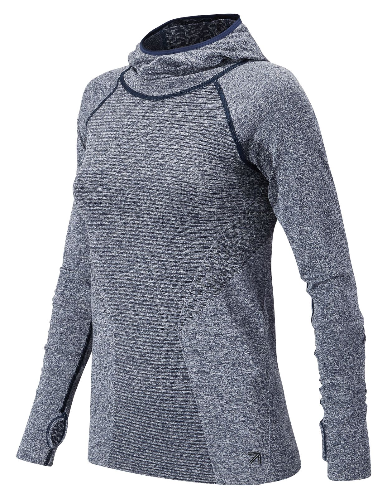 NB J.Crew M4M Seamless Hooded Pullover, Navy