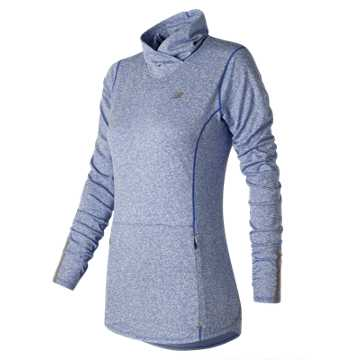 New Balance Beacon Pullover, Majestic Blue Heather