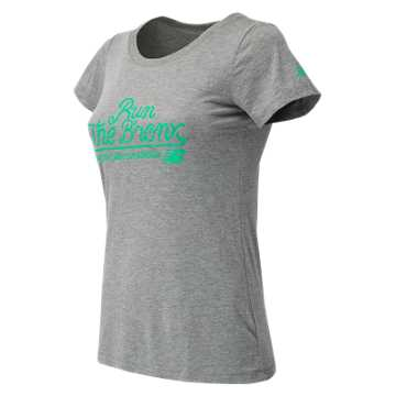 New Balance NYRR Bronx SS Tee, Athletic Grey