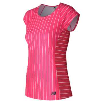 New Balance Somerset Cap Sleeve, Alpha Pink