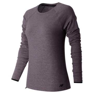 New Balance Sport Style LS Shirt, Feather Heather