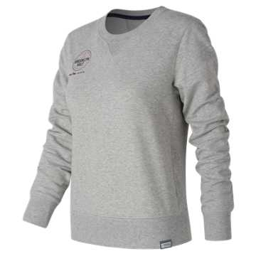 New Balance Brooklyn Half Classic Crew, Athletic Grey