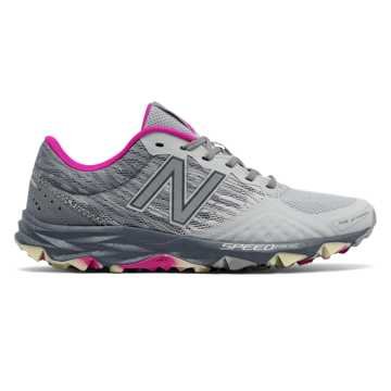 New Balance Reflective 690v2 Trail, Silver Mink with Poisonberry & Gunmetal