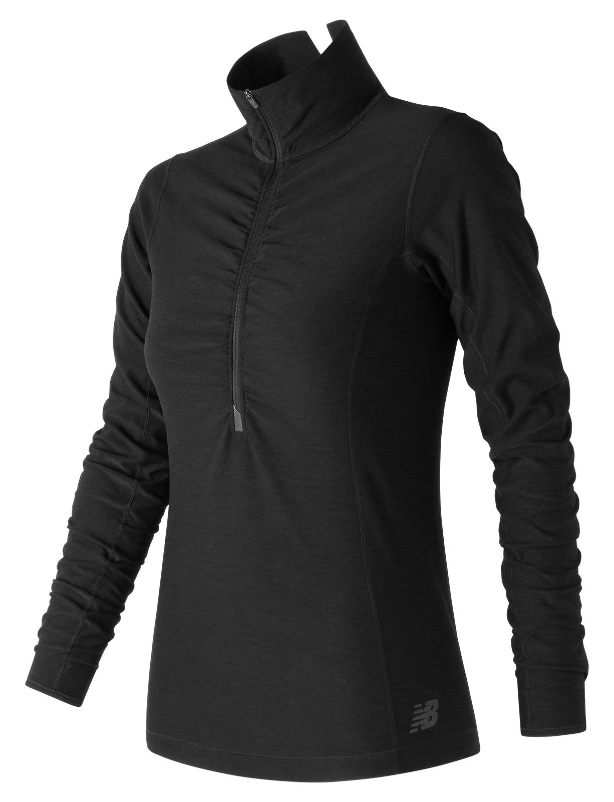 NB In Transit Half Zip, Black