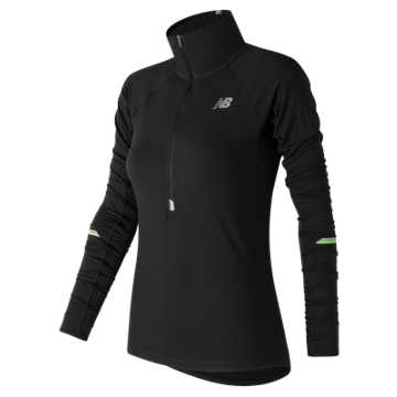 New Balance Impact Half Zip, Black