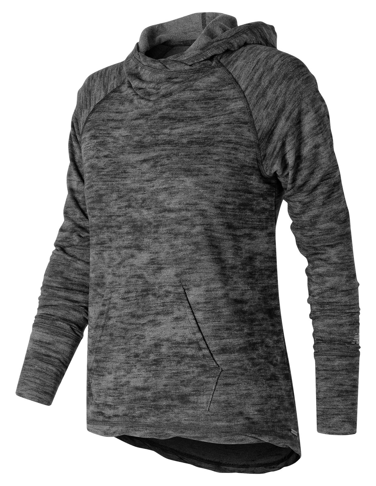 NB Hatha Hoodie, Charcoal Heather